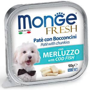 Консерва Monge Dog Fresh (Треска)