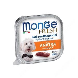 Консерва Monge Dog Fresh (Утка), 100 г