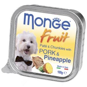 Консерва Monge Dog Fruit (Свинина с ананасом), 100 г