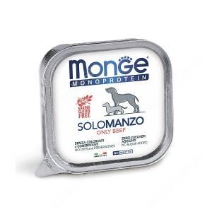 Консерва Monge Dog Monoproteico Solo (Паштет из говядины), 150 г