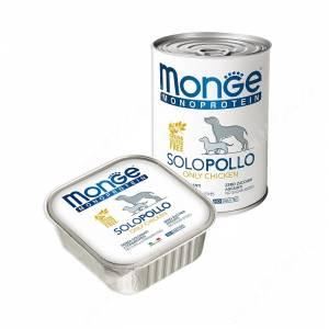 Консерва Monge Dog Monoproteico Solo (Паштет из курицы)