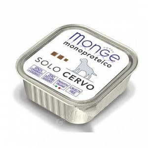 Консерва Monge Dog Monoproteico Solo (Паштет из оленины)