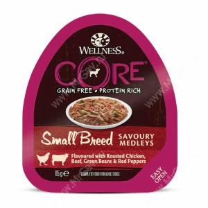 Консервы для собак Wellness Core Small Breed из курицы с говядиной