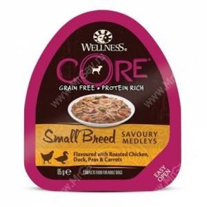 Консервы для собак Wellness Core Small Breed из курицы с уткой