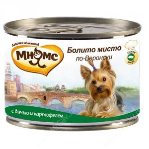 Консервы Мнямс Болито мисто по-Веронски (дичь с картофелем), 200 г