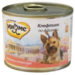 Консервы Мнямс Клефтико по-Афински (ягненок с томатами), 200 г
