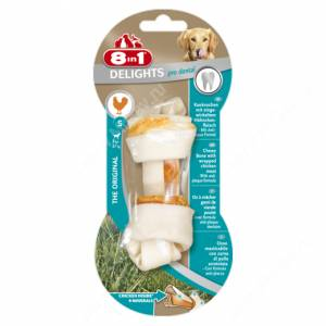 Косточка для чистки зубов 8in1 Dental Delights, XS