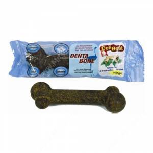 Деликатесная косточка из мяса страуса Delibest для средних и крупных пород, 1 шт.