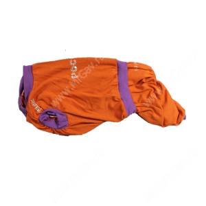 Костюм трикотажный для собак Хэппи, оранжевый-4