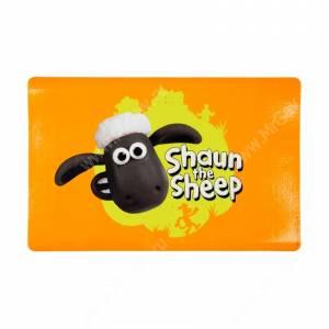 Коврик под миску Trixie Shaun the sheep, оранжевый