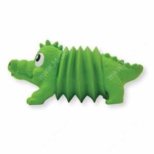 Крокодил с пищалкой Petstages OH Accordionz, 15 см
