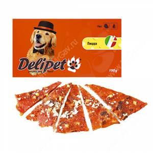 Лакомство Delipet пицца, 100 г
