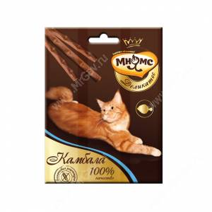 Лакомство Мнямс Деликатес палочки для кошек с камбалой, 3 шт.