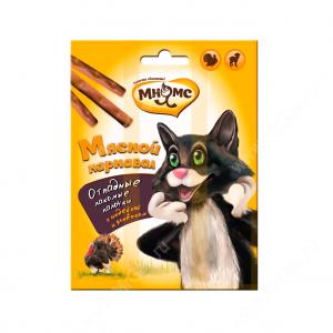 Лакомство Мнямс палочки для кошек Мясной карнавал, 3 шт.