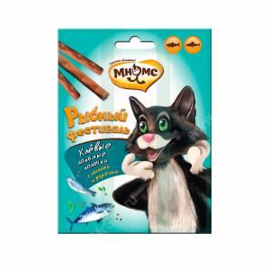 Лакомство Мнямс палочки для кошек Рыбный фестиваль, 3 шт.