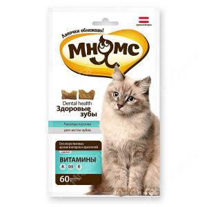 Лакомство Мнямс Pro Pet дентал лакомство для кошек, 60 г
