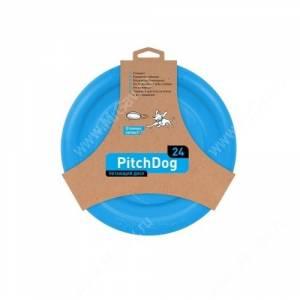 Летающий диск PitchDog, голубой