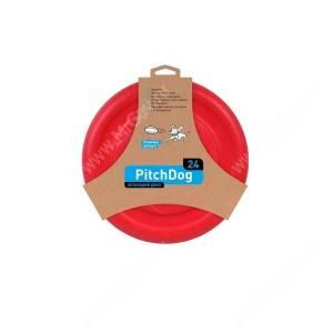 Летающий диск PitchDog, красный