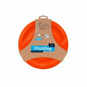 Летающий диск PitchDog, оранжевый