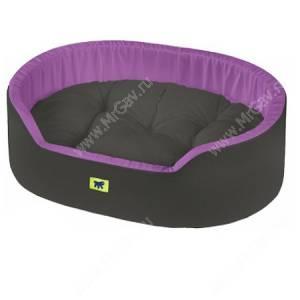Лежак Ferplast Dandy C55, 55 см*41 см*15 см, фиолетово-серый