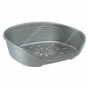 Лежак Ferplast Siesta deluxe 4, 61,5 см*45 см*21,5 см, серебристый