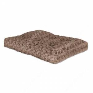 Лежанка Midwest Ombre плюшевая с завитками, 58 см*46 см, мокко