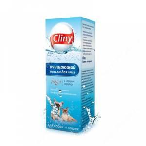 Лосьон очищающий для глаз Cliny