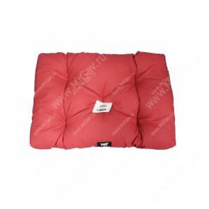 Матрац Soffy, 110 см*70 см*13 см, серо-красный