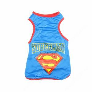 Майка Супермена, синяя, 38 см