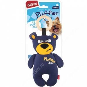 Медведь GiGwi с пищалкой