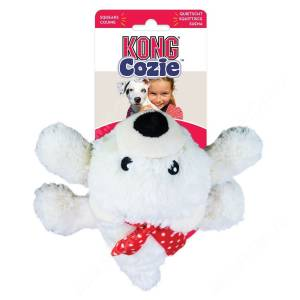 Мишка KONG Cozie Holiday, 15 см