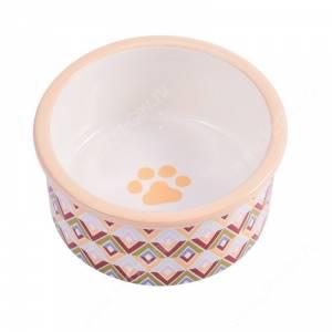 Миска керамическая КерамикАрт, 0,6 л, орнамент