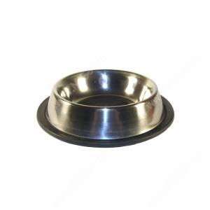 Миска металлическая на резинке 0,2 л