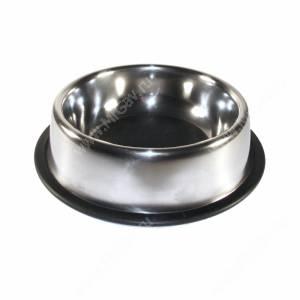 Миска металлическая на резинке 0,7 л