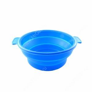 Миска складная 0,7 л, синяя