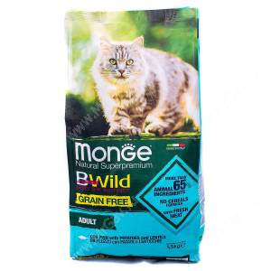 Monge Cat Bwild Grain Free