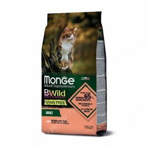 Monge Cat Bwild Grain Free для взрослых кошек (Лосось)<br /><br /><br />
