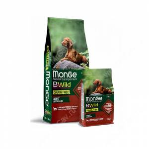 Monge Dog All Breeds Bwild Grain Free (Ягненок)