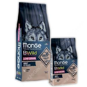 Monge Dog All Breeds Bwild Low Grain Goose (Гусь)