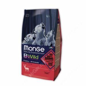 Monge Dog All Breeds Bwild Puppy&Junior Wild Deer (Оленина)
