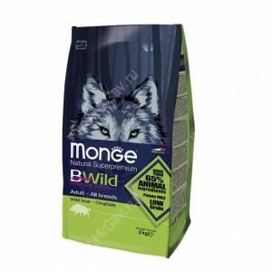 Monge Dog All Breeds Bwild Wild Boar (Дикий кабан)