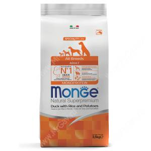 Monge Dog All Breeds Speciality (Утка с рисом и картофелем)