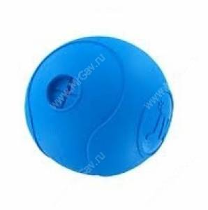 Мяч для лакомств JW Amaze-A-Ball из каучука, средний, голубой