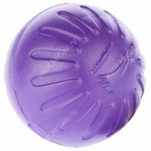 Мяч из вспененной резины StarMark Fantastic Foam Ball, большой, фиолетовый