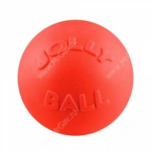 Мяч Jolly Bounce-n-Play Ball, 15,24 см, оранжевый