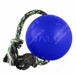 Мяч Jolly Romp-n-Roll Ball, 20 см, синий