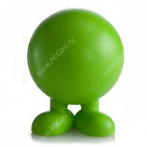 Мяч на ножках JW Good Cuz из каучука, средний, зеленый