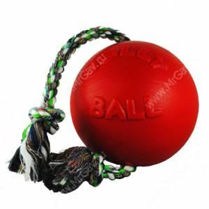Мяч Jolly Romp-n-Roll Ball, 15,24 см, красный