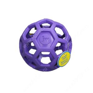 Мяч сетчатый Hol-ee Roller Dog Toys из каучука, средний, фиолетовый