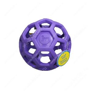 Мяч сетчатый Hol-ee Roller Dog Toys из каучука, очень большой, фиолетовый